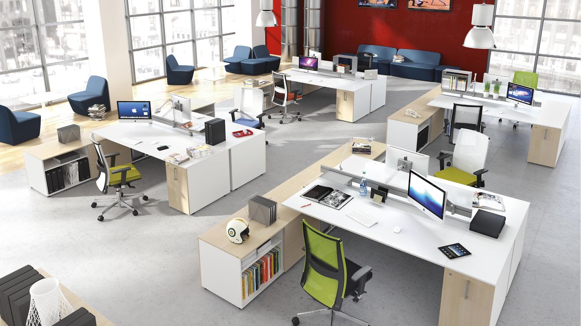 Willtex pisos de madera muebles de oficina alfombras for Muebles para oficina 3