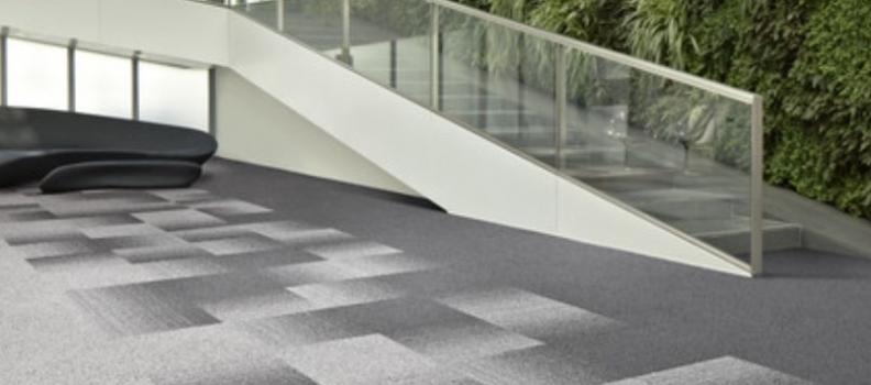 Construir espacios únicos con alfombras modulares